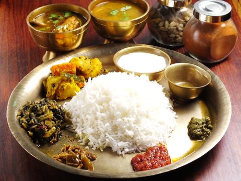 本格的な家庭ネパール料理と北インド料理が楽しめる!!