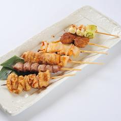 串焼き盛り合わせ(塩・たれ)
