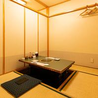 赤坂エリアにある純和風な個室でゆったりお食事