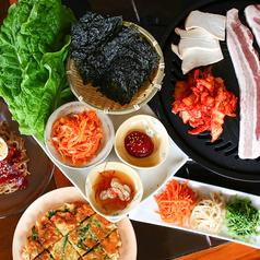 韓国屋台 ポンチャンのコース写真