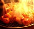 料理メニュー写真黒毛和牛のホルモン炭火焼