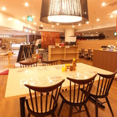 ベニカフェ BENI★CAFE 新宿ミロード店の雰囲気3