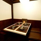 Boxタイプのテーブル席を多数ご用意☆ちょっとした飲み会や女子会に最適な空間です♪ テーブル席は2名様からご予約頂けます♪浜松での宴会・女子会・合コン等お任せ下さい!