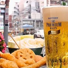 暑い夏はビールと串カツで決まり!夏の鍋も美味しいですよ♪