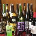 メイドインジャパンにこだわったお酒の数々♪