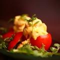 料理メニュー写真ベルギー名物甘海老のトマトクルヴェット