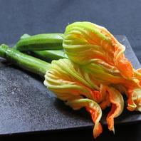 『花ズッキーニの詰め物』