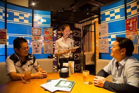 石垣牛と沖縄料理がリーズナブルで充実★19時までドリンクタイムサービスも大好評!!