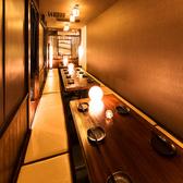 50名様までOKの掘り炬燵付き個室!合コン・女子会などに◎お安くお得な飲み放題,食べ放題コースもご用意しております。!新宿で個室居酒屋をお探しなら当店へ!