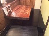 隠れ家的空間人気のある テーブル席