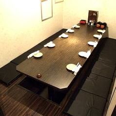 6名様~10名様の個室!コンパにはいい感じのお部屋♪