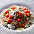 料理メニュー写真本日鮮魚のカルパッチョ