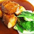 料理メニュー写真黒酢の酢豚