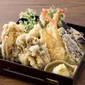 料理メニュー写真秋の天ぷら七種盛り合わせ