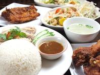 素材の味を活かした本場タイの料理を味わえる!