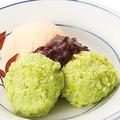 料理メニュー写真[東北の味]ずんだ餅アイスクリーム