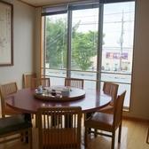 2階完全個室。落ち着いた雰囲気の解放感ある空間です。