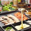 料理メニュー写真【NEW】サムギョプサルチーズ(2~4名様用)