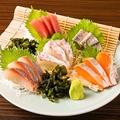 料理メニュー写真鮮魚刺身 5点盛り