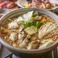 料理メニュー写真牡蠣とキノコの麻辣鍋 1人前
