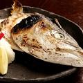 料理メニュー写真かぶと塩焼き(ブリなど)