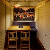 個室席は2席ご用意しております。2名~6名様までご利用可能。接待・デートなど大切な飲み会に最適です。
