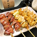 料理メニュー写真鶏串盛合せ(5本)