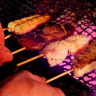 名物!新鮮魚介の海串☆