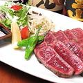 料理メニュー写真備前黒毛和牛のステーキ