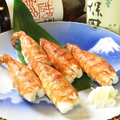 料理メニュー写真大海老の寿司