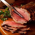 料理メニュー写真和牛のローストビーフ