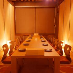 【松山エリア】団体での宴会に最適な個室空間!