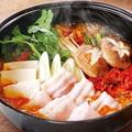料理メニュー写真本格キムチ鍋