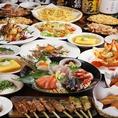 アラカルトメニューも豊富な品揃え!居酒屋の定番枝豆や、塩辛、たこわさ、ポテトフライなどのおつまみをはじめ、北海道風蒸し鶏ラーメンサラダや室蘭風豚バラ焼きとりなど北海道を味わえるメニューも豊富。どなたでもお楽しみいただける居酒屋です!