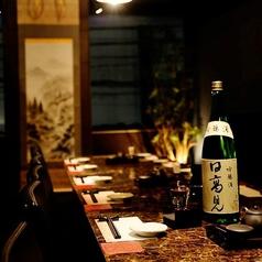 落ち着いた空間でおいしいお酒を・・・