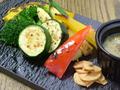 料理メニュー写真こだわり 炭焼き温野菜のバーニャカウダ―