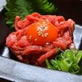 料理メニュー写真【その次は…】牛タンのユ ッケ