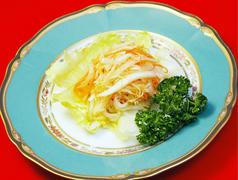 特選クラゲの冷菜/白菜の甘辛酢漬