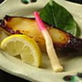 料理メニュー写真銀鱈の西京焼き