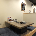 【2~4名様対応】周りを気にせずお食事ができる半個室のお席です