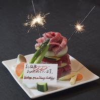 お祝いの新定番◆肉ケーキ