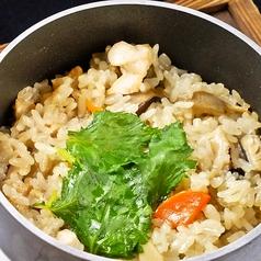 特製出汁の鶏釜飯