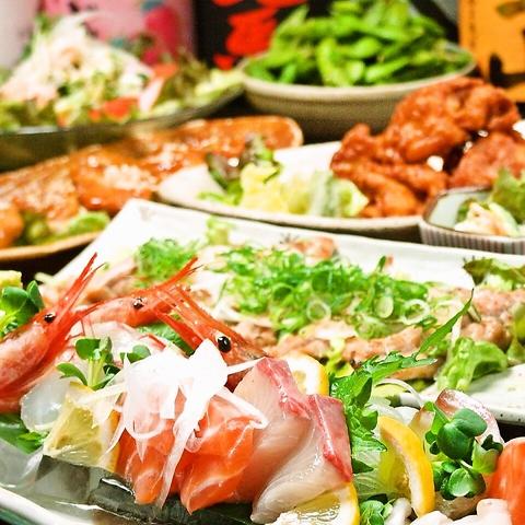 地鶏と旬魚でおもてなし…南条の隠れ家居酒屋。赤兎馬や常徳屋など希少な焼酎も580円