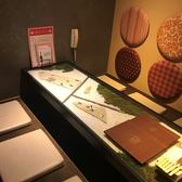 落ち着きの和風個室はテーブルの中にも秘密が・・・。ガラステーブルの内側に広がる非日常感をお楽しみください♪