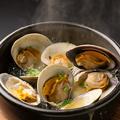 料理メニュー写真六根名物~白蛤の石鍋~