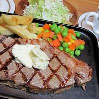 これぞお肉の王道!サーロインステーキ