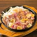 料理メニュー写真国産牛ガーリックステーキ