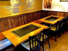 テーブル席(5名様×2席)(10名様)