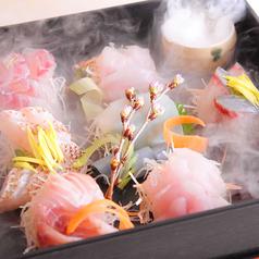 鮮魚のお造り宝石箱