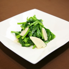 季節の青菜炒め